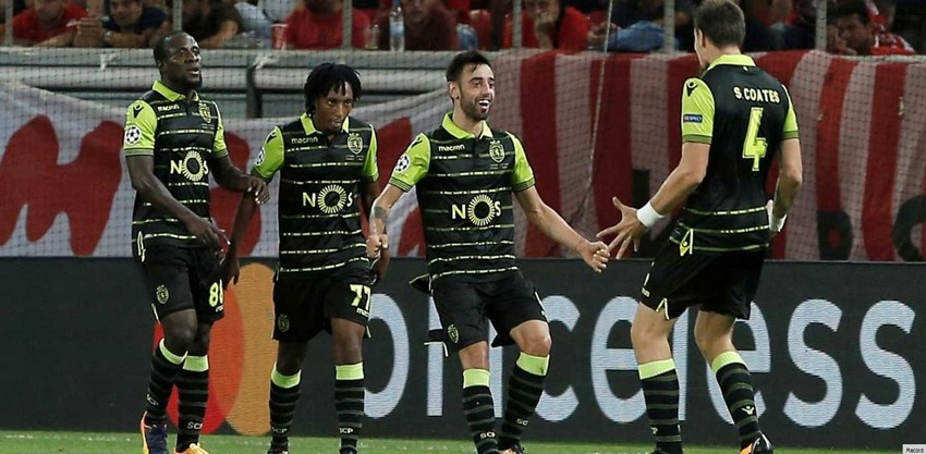 Le sporting s'impose 3-0 face à l'Olympiakos