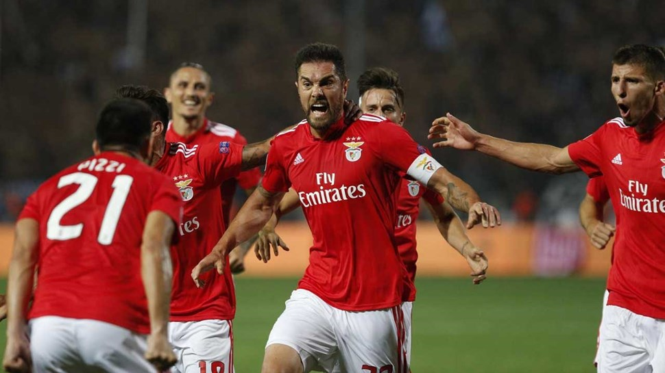 PAOK 1-4 SL Benfica
