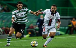 Le but de Davidson face au Sporting CP