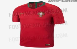 Probable maillot Portugal Coupe du Monde 2018