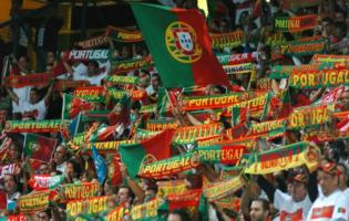 Supporteurs du Portugal