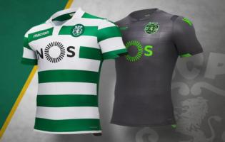 Maillots Sporting CP saison 2018-2019