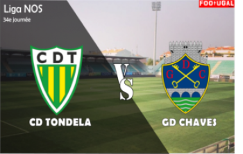 CD Tondela VS Chaves